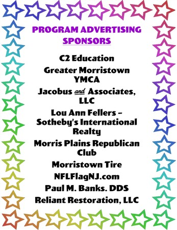 THANK YOU PROGRAM ADVERTISERS!