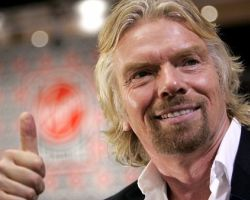 Richard Branson has made lots of money starting his business from scratch