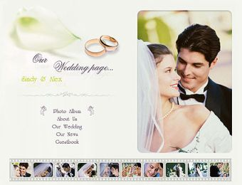 how to create a wedding website for free