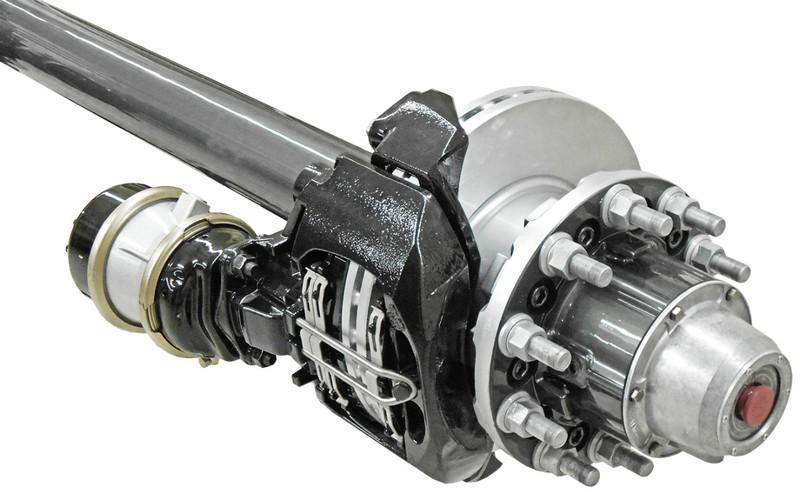 Axn heavy duty trailer axle air disc brake