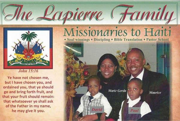 Maurice Lapierre & Family