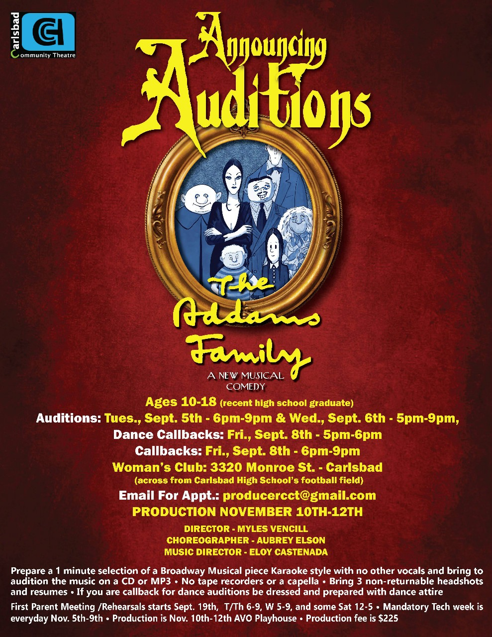 Download Audition Form Here