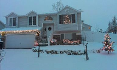 Our home in West Jordan