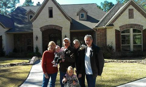 Christmas with Rob's parents (Magnolia, TX)