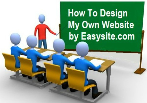 how to design my own web site