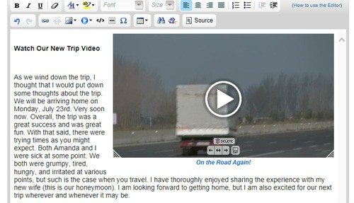 Adding Video to a Website