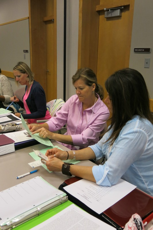 CDF Students gain tools to help clients prepare for successful employment choices.