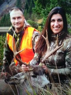 Janet Signore Mule Deer 625 yardsShot in Montana
