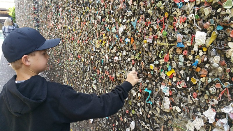 Bubble Gum Alley - yuck!