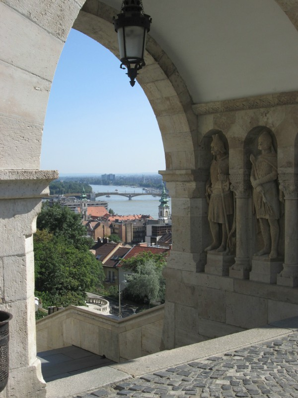 A view through Fisherman's Bastion