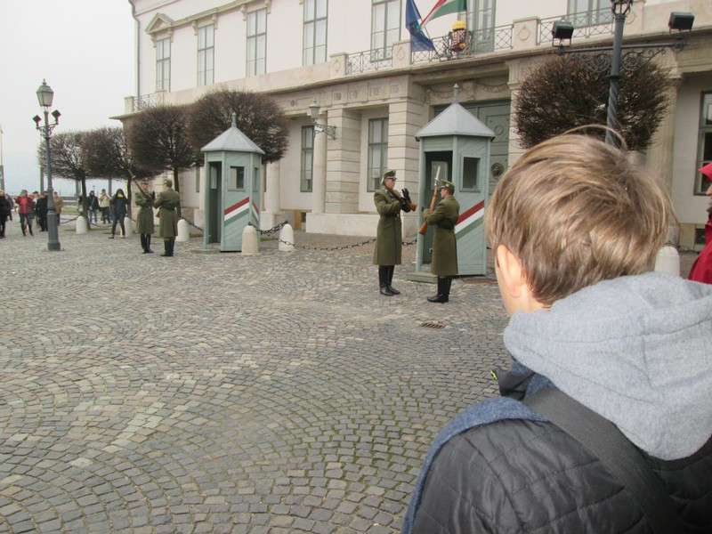 Changing of the Guard at Sandor Palace