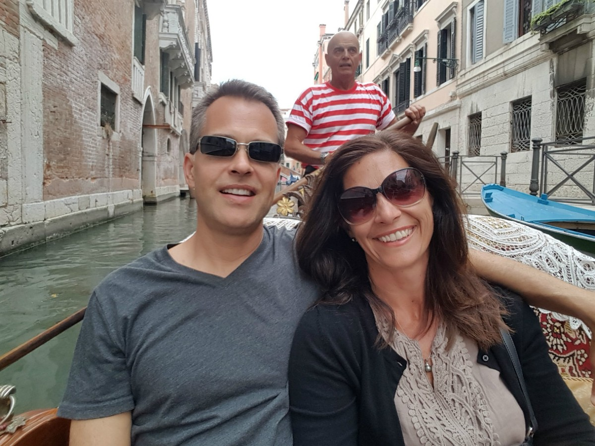 On a recent trip to Venice, Italy