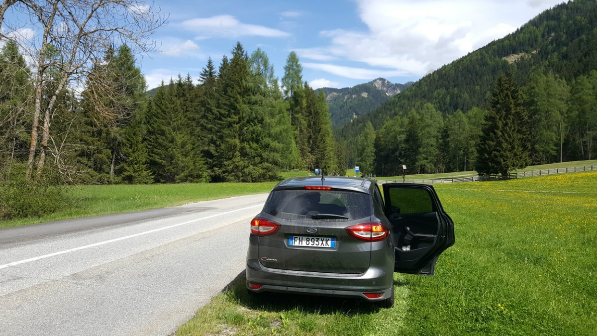 One of the great things about a self-drive trip in Europe - pull over anytime you want to stop for a picture!