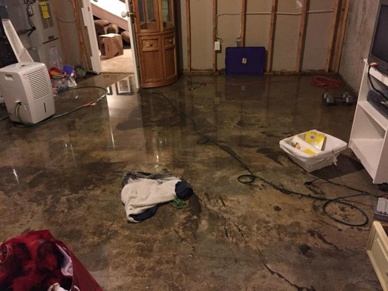 Flood Damage Chesterfield mo