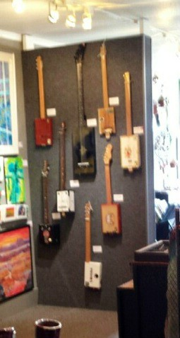 Jerry's wall at the Island Gallery West!