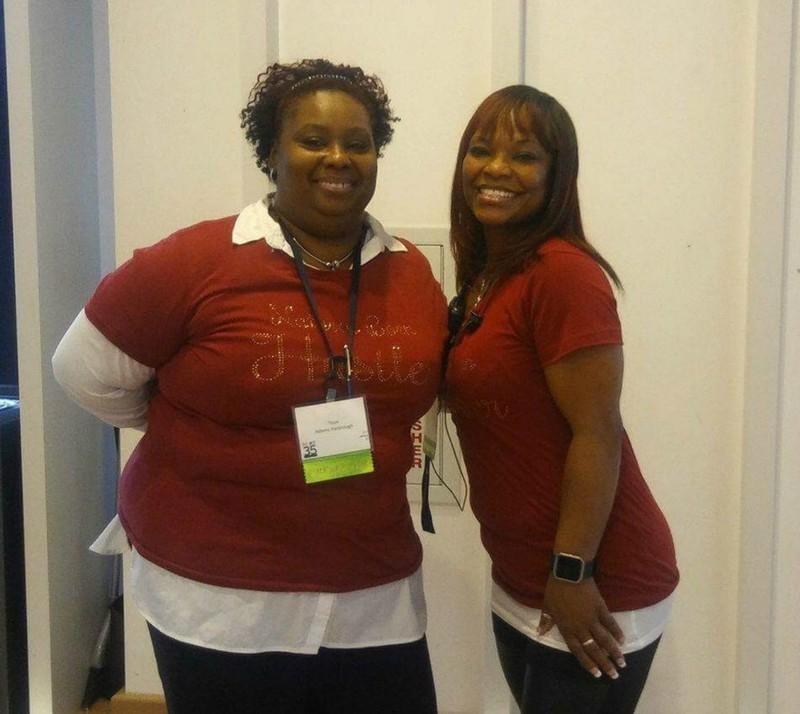 Sherry Hawkins and Toiya Adams-Yharbrough