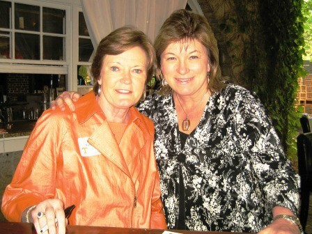 Brenda with Pat Summit