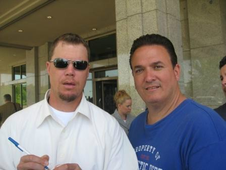 Tony with Chipper Jones