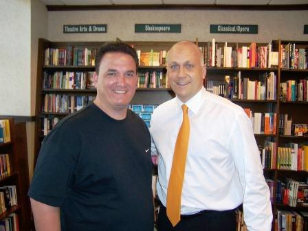 Tony with Cal Ripken Jr.