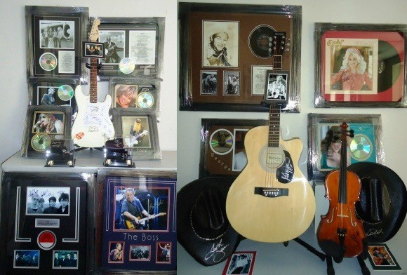 Music hall of fame! Such as country, rock'n'roll and more!