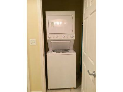 WASHER & DRYER RIGHT IN THE CONDO FOR YOUR CONVENIENCE.