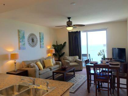 CONDO IS A 2BR/2BA with pull_out SOFA.  FREE MOVIE RENTALS AND TV'S IN EACH BEDROOM