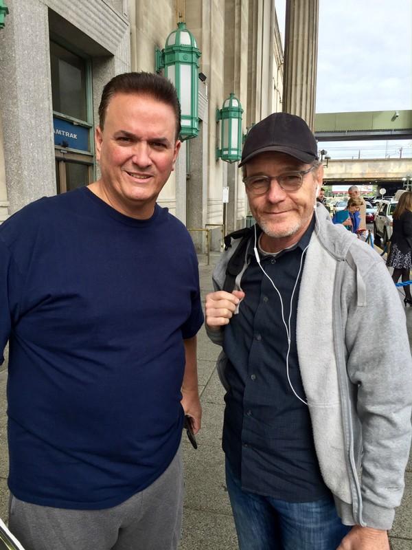 Tony with Bryan Cranston
