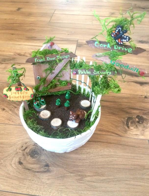 Joette's Fairy Garden!