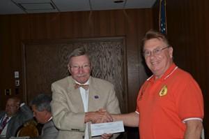 Provost Donates to ASHAC