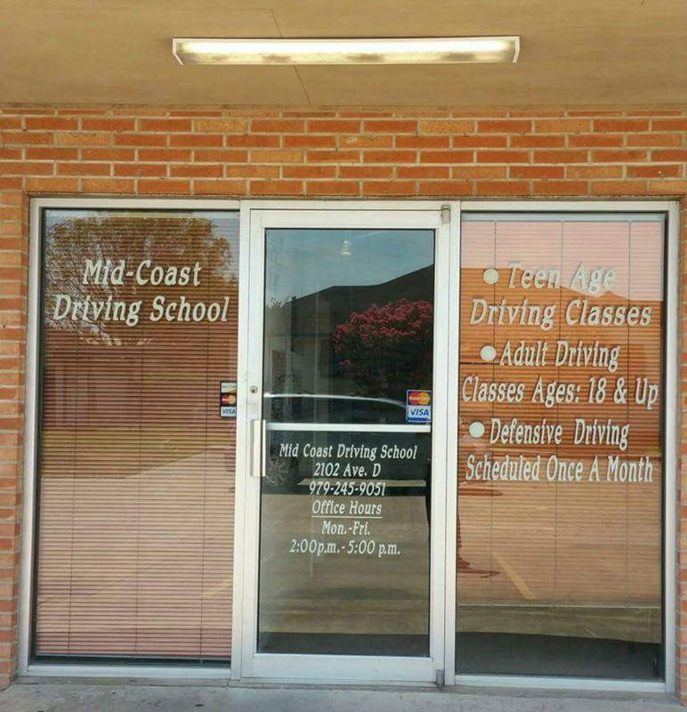 Welcome To Mid Coast Driving School 2102 Ave D Bay City Tx 77414