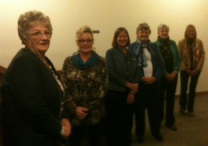 Syles by Christopher Banks and shown by our Presbyterian Women!