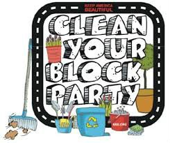 Image Credit: kgib.org. Remember to clean up after each social theme activity-- Teams' Summer Challenge: Carnival and Neighborhood Block Party.