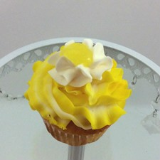 Lemon cupcake with a delicious lemon filming and lemon butter cream!