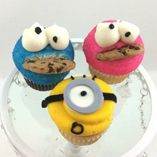 Minion and Monster Cupcakes! for your little monster The children love these!!