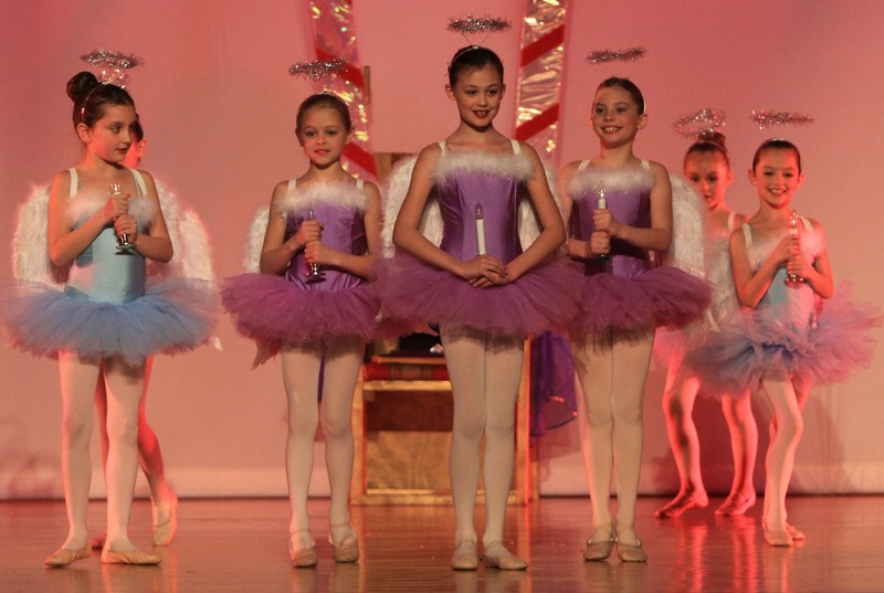 Ballet 1 as Angels in The Nutcracker 2013