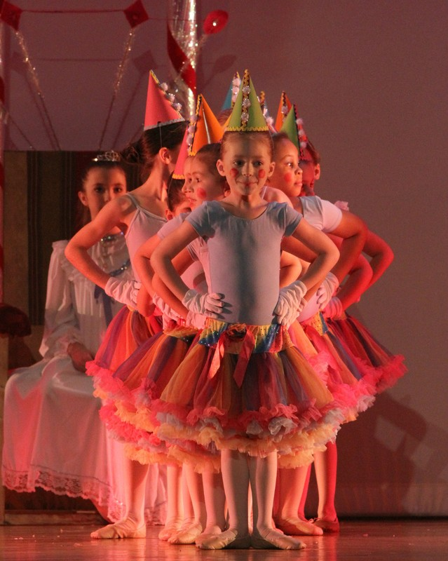 Pre-Ballet 1 as Clowns in The Nutcracker 2013