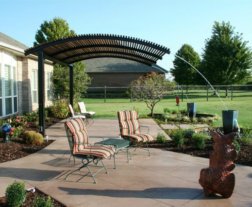 Steel Shade Pergolas Provide A Shade Covering For Your Patio Or Outdoor Livin
