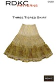 Three Tiered Skirt