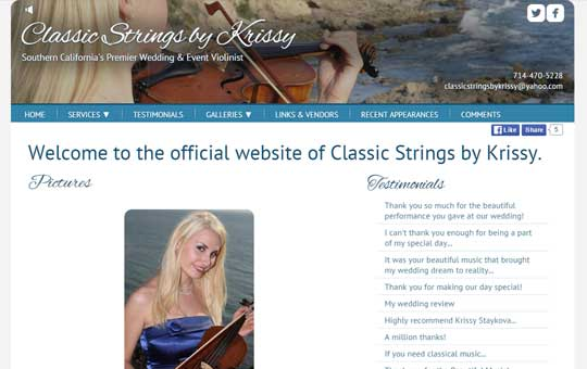 Classic Strings By Krissy