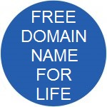 get a free domain name for life
