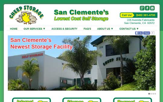 San Clemente's Lowest Self Storage