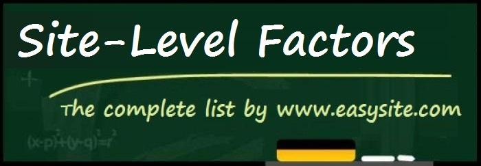 site level factors
