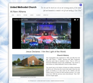 This is a church website built by mike