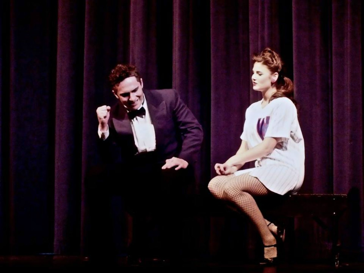 Adam and Georgia in Damn Yankees