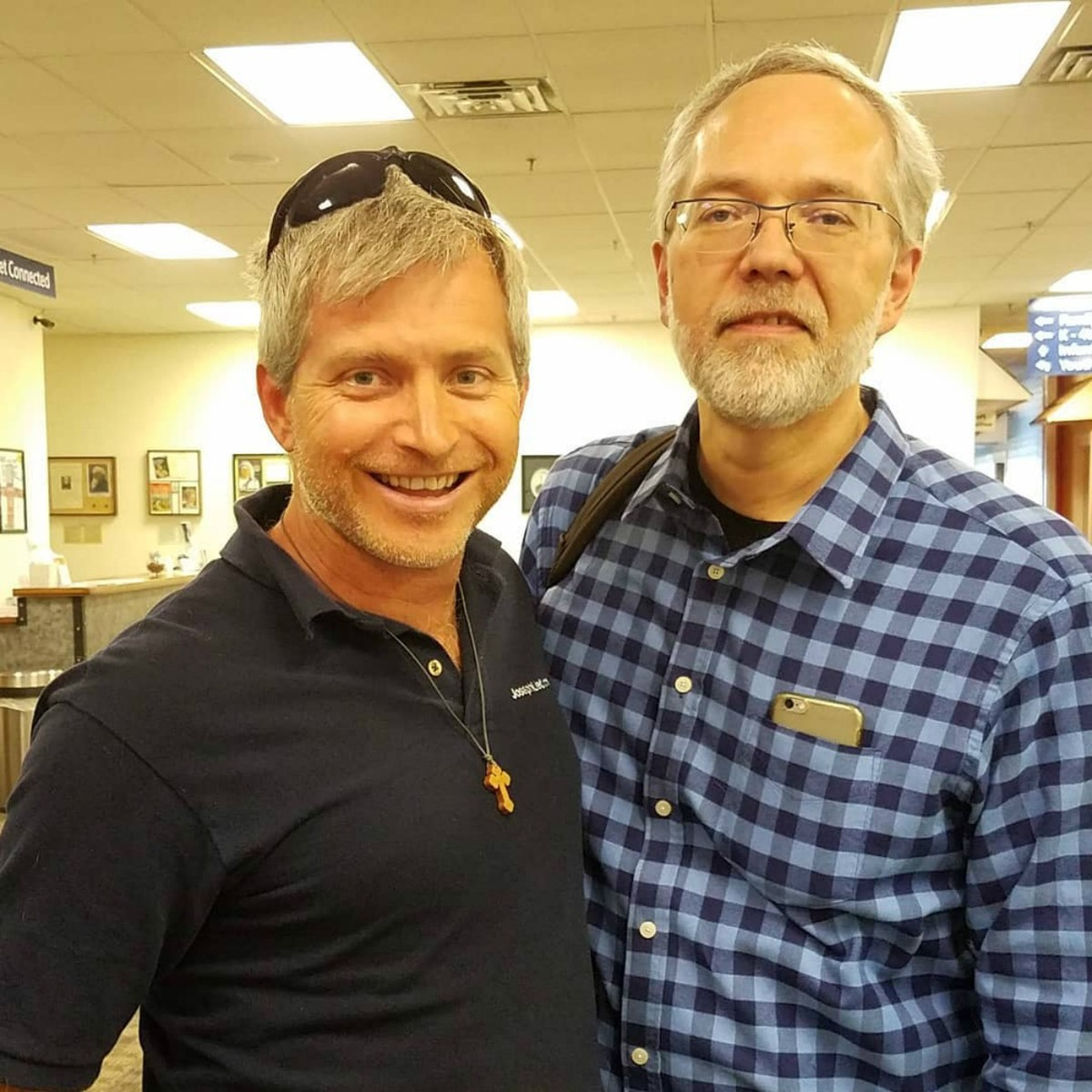Rob and Dr. Heiser