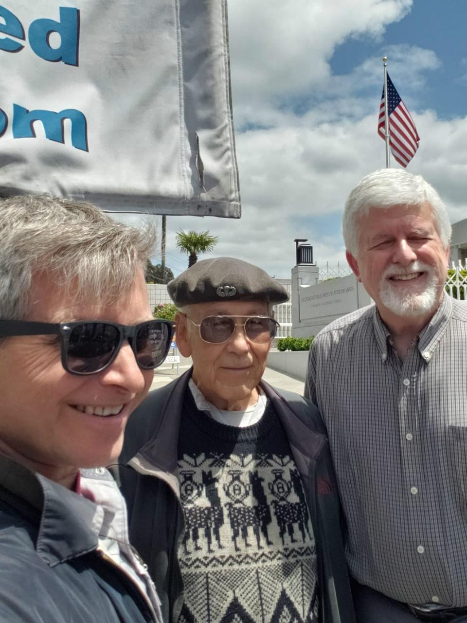 Rob, Eldon, and Jeff