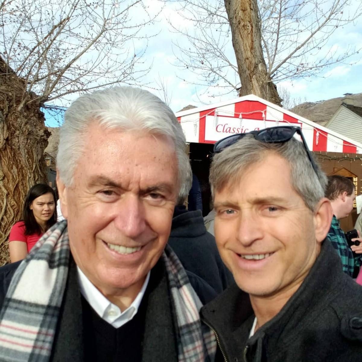 Uchtdorf with Rob Sivulka