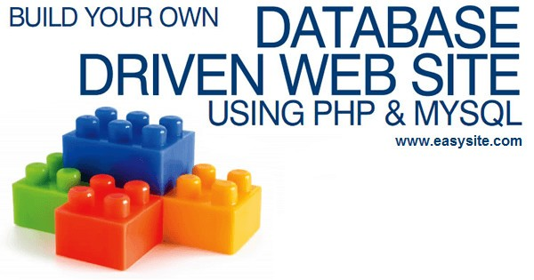 How to create your own database driven website