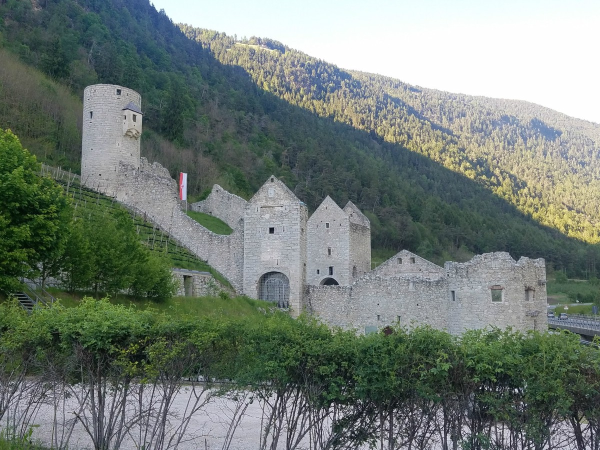 Nearby Fortress of Muhlbach