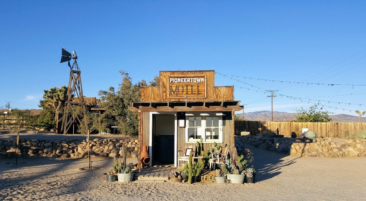 Check in at the Pioneertown Hotel